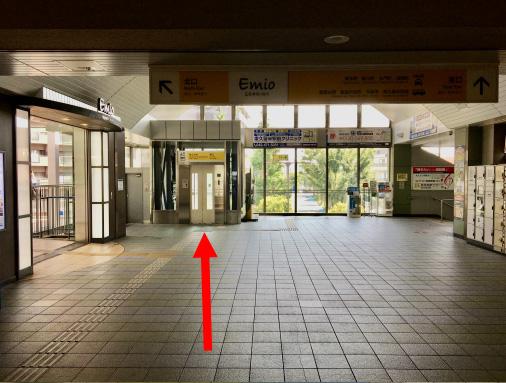 東久留米駅からのルート